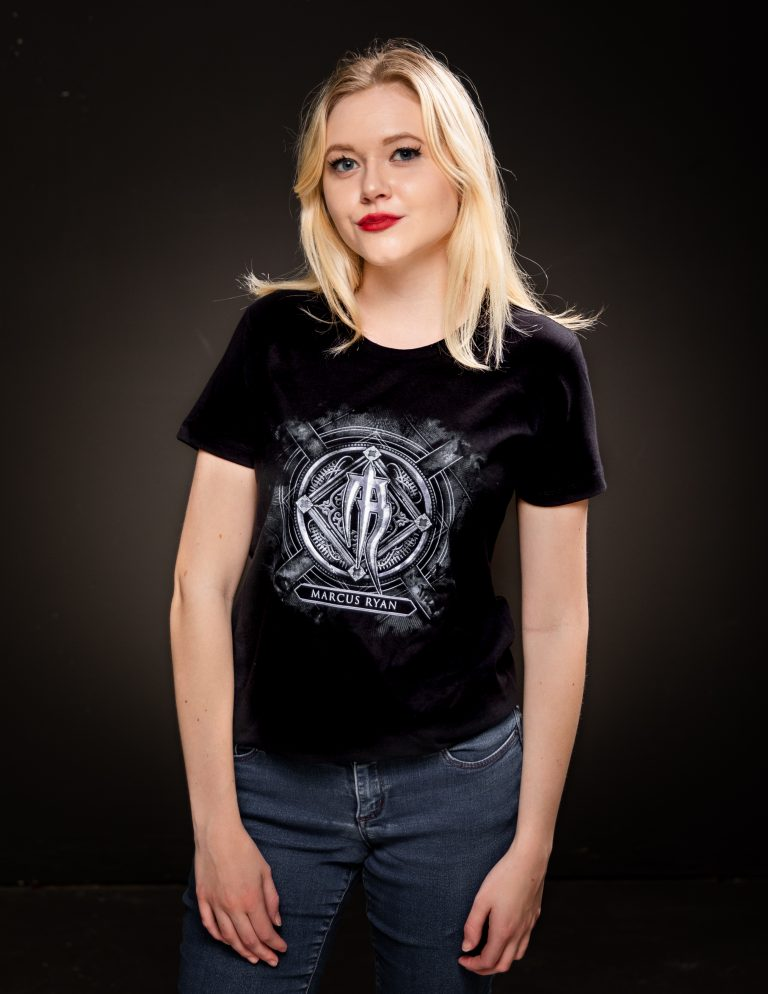 ladies graphic logo t shirt