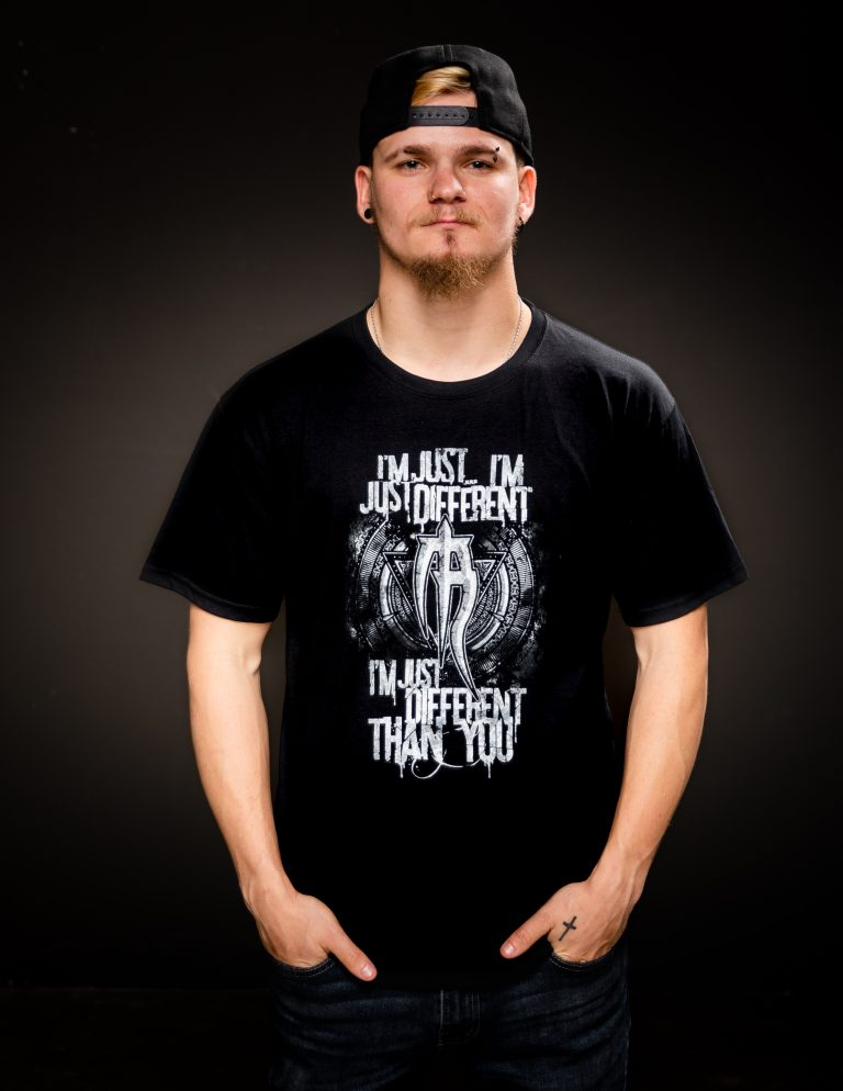 mens different than you t shirt
