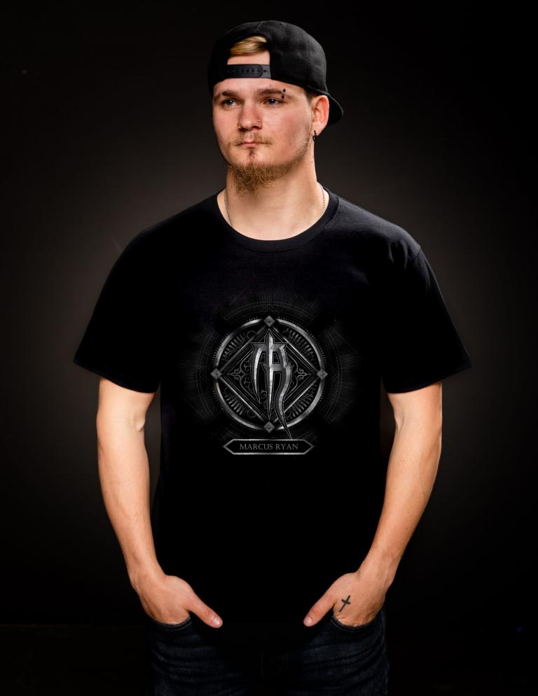 mens graphic logo t shirt